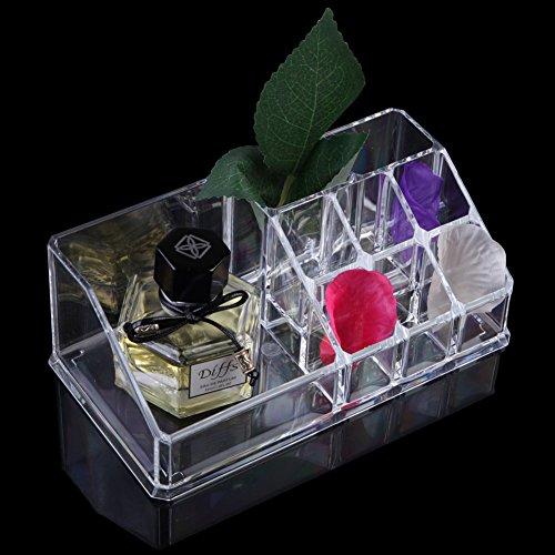 demiawaking transparent Acryl Kosmetik Schmuck Make-up Organizer Schublade Box Case Ständer Nr....