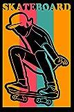 Retro Skateboard Skater Player Gift For Skateboarder Legend...