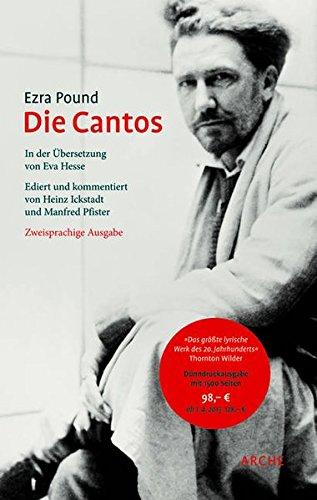 Die Cantos: Zweisprachige Erstausgabeの詳細を見る