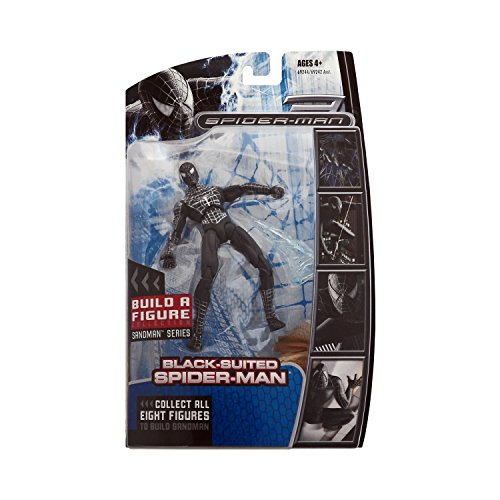 Marvel Legends Spider-Man Movie Action Figure Black-Suit Spider-Man