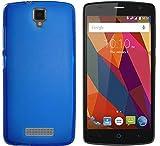 Todobarato24h Funda TPU Lisa Compatible con Zte Blade L5 / L5 Plus Azul