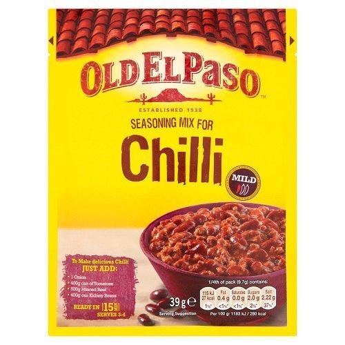 Vecchio El Paso Chili Con Carne Condimento Mix 39G