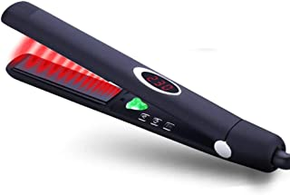 Hair curler Infrared Curling Iron, Negative Ion Straight Curler Ceramic Electric Heating Rod Hair Straightening Curling Device