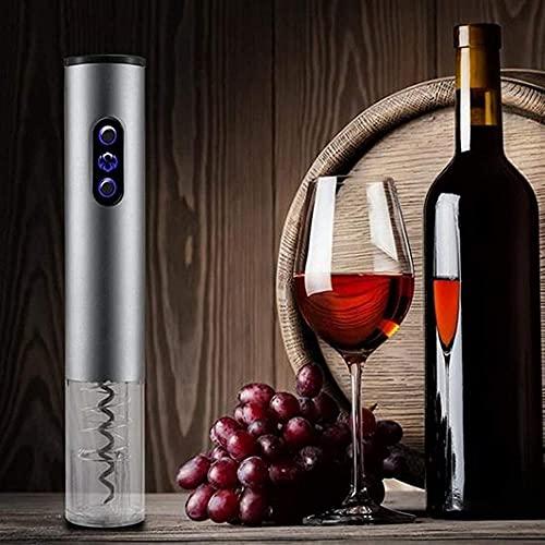 Sacacorchos automático eléctrico abridor de vino removedor de sacacorchos de aleación de aluminio, kit de abridor de botellas de vino