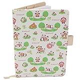 Porta Libretto Sanitario Neonato - Motivo Panda - Formato A5 15x20 cm - Alette per conservare le prescrizioni