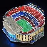 EAYOK Juego de iluminación LED para Lego 10284, DIY Lego 10284 Camp NOU LED (Modelo Lego no incluido) – Versión clásica