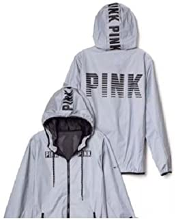 680c1688 Victoria's Secret Pink Limited Edition 002 Anorak Reflective XS/S with Bag