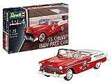 Revell-1955 Chevy Indy Pace Car, Escala 1:25 Kit de Modelos de plástico, Multicolor, 1/25 (Revell 07686 7686)