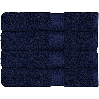Utopia Towels Luxury Hotel and Spa Bath Towels - (27 x 54 Inches) - 4 Pack Towel set, (Blue)