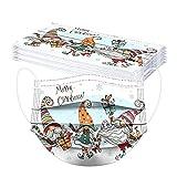 skiyy Navidad 10/50 Piezas 3 Capas Niños Towel Protection Paquete de Mezcla de impresión navideña para Actividades al Aire Libre Fiesta Escolar con elástico (A-7, 14.5x9.5cm)