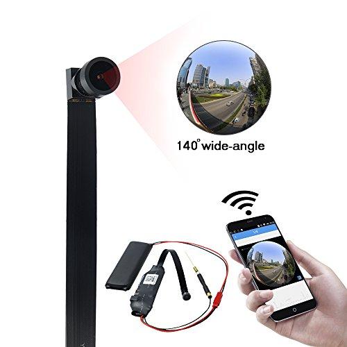 Mini WiFi Kamera UYIKOO 140° WiFi Kameras 1080P HD Video WLAN Kamera mit WLAN IP Kamera für zu Hause Sicherheit Nanny Cam Bewegungserkennung