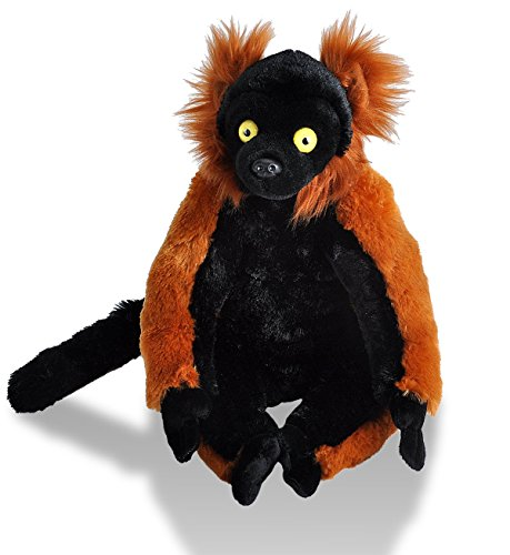Red Ruffed Lemur Plush