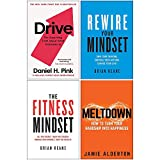 Drive The Surprising Truth About What Motivates Us, Rewire Your Mindset, The Fitness Mindset, Meltdown 4 Books Collection Set