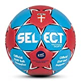 SELECT Ballon de Handball Match Soft 2 Bleu - Bleu/Rouge
