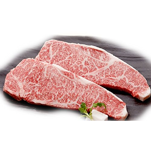 c0e8be72c51f Authentic Japanese Wagyu Beef Kobe Beef Strip Steaks 20 lbs -A5 Grade   Amazon.com  Grocery   Gourmet Food