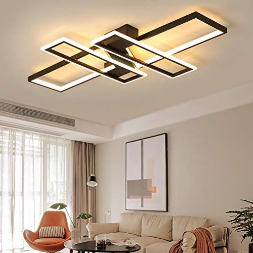 Lámpara LED de techo regulable para dormitorio salón decoración diseño moderno acrílico...