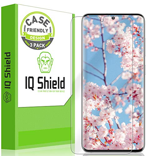 IQ Shield Screen Protector Compatible with Samsung Galaxy S20 (6.2 inch)(3-Pack)(Case Friendly) Anti-Bubble Clear Film