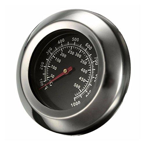 SODIAL Dia 3 Zoll Grad Celsius/Fahrenheit 50~500 Grad Celsius Braten Grill Pit Raucher Grill Thermometer Temperaturanzeige