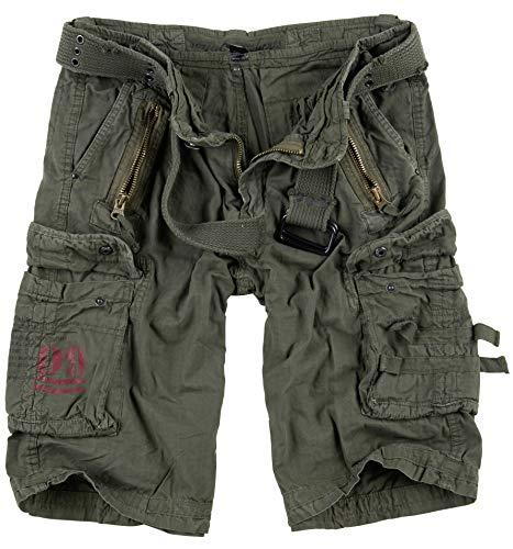 Surplus Raw Vintage Royal Shorts, royalgreen, L