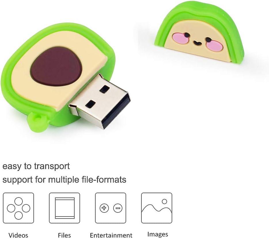 Regalo di Natale per Famiglia e Amici Chiavetta USB da 16 GB Modello di Natale 5 Pezzi BorlterClamp Pen Drive Scheda di Memoria