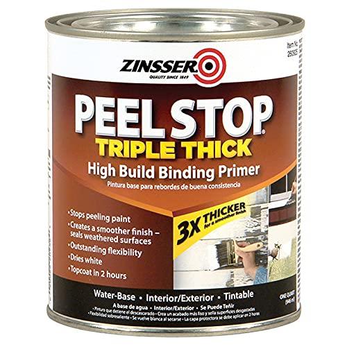 1 qt Zinsser 260925 White Zinsser, Peel Stop Triple Thick...