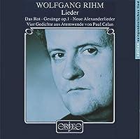 Lieder, Vier Gedichte Aus Atemwende (Hesse, Pregardien) by Wolfgang Rihm (1997-11-25)