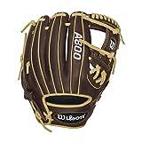 Wilson Showtime Baseball Gloves, Brown/Blonde, 11.5', Right Hand Throw