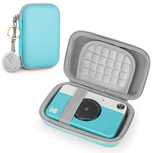 Funda para Kodak PRINTOMATIC/Smile/Mini 2 HD, cámara digital instantánea de fotos, bolsa de viaje, color azul