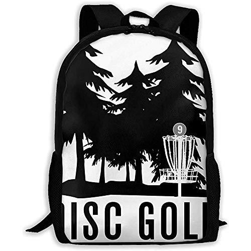 Männer/Frauen,leichter Rucksack personalisierte,lässige Schultasche,Schultertasche im Freien,großer Rucksack verstellbarer Oxford-Tagesrucksack für Discgolf,passend für Laptop,Reisetasche,Diebstahlsch