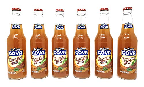 Goya Refresco Tamarind Soda 12fl.oz, 6 Pack