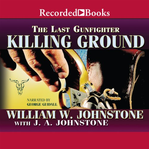 Killing Ground audiobook cover art
