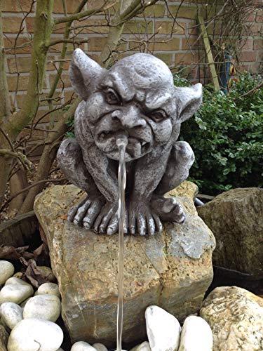 Wasserspeier Steinfigur Gargoyle W43