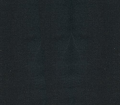 Canvas Duck Fabric 10 oz Dyed Solid Black / 54