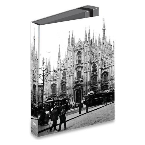 Cartelle 3 lembi con elastico dorso 5cm Kaos - Il Duomo di Milano