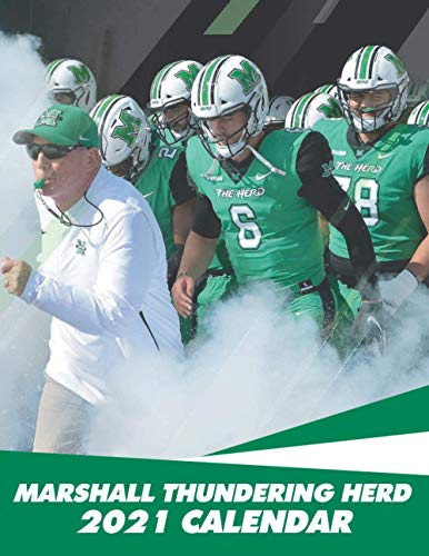 Marshall Thundering Herd 2021 Calendar