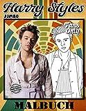 Harry Styles Malbuch: Harry Styles Malbuch: Farbe Ultimative Inoffizielle Bilder