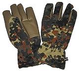 MFH Fleece Handschuhe Alpina für Sie und Ihn Winterhandschuhe Ski Handschuhe Flecktarn S-3XL (XL)