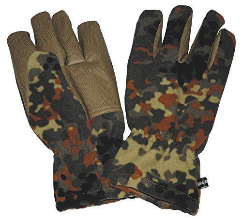 Fleece Handschuhe Alpina für Sie und Ihn Winterhandschuhe Ski Handschuhe Flecktarn S-3XL (L)