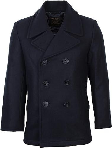 Mil-Tec Herren Us Navy PEA Coat Tuch Jacke