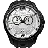 NOA Unisex Swiss Quartz Watch - Premium Analog Display With Light Gray Dial and Black Watch Band - Black Accents - Water Resistant Stainless Steel Fashion - SKCH-007