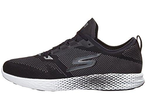 Skechers Mens Go MEB Razor 2 Black/White 11 D