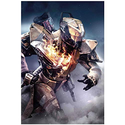 wzgsffs Destiny 2 The Taken King Póster E Impresiones Arte De La Pared Impresión En Lienzo para La Sala De Estar Dormitorio Decorativo Cafe-20X28 Inchx1 Frameless