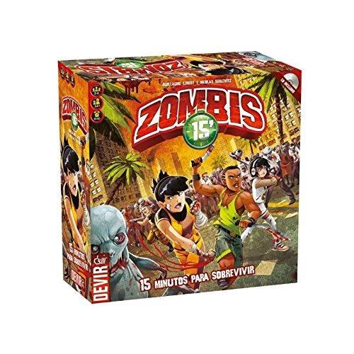 Juego de mesa Zombies 15 Edición en castellano