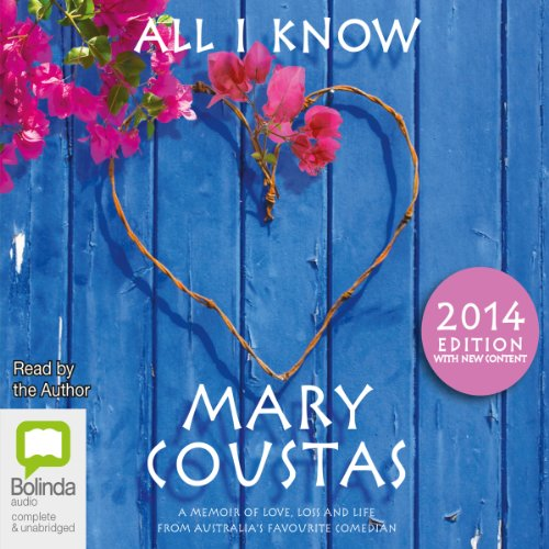 All I Know audiobook cover art