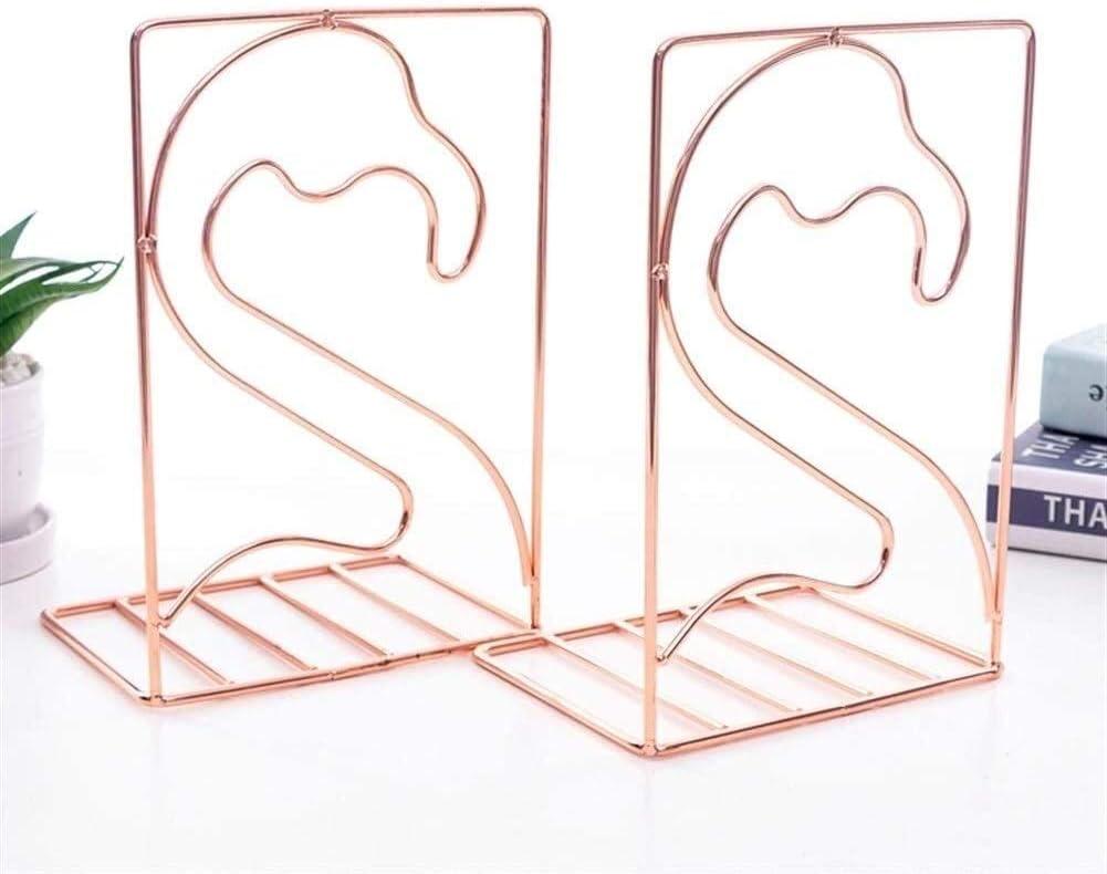 BINZII Book Holders for Shelves Bookshelf 2pcs Decoration Flami Max 83% Financial sales sale OFF