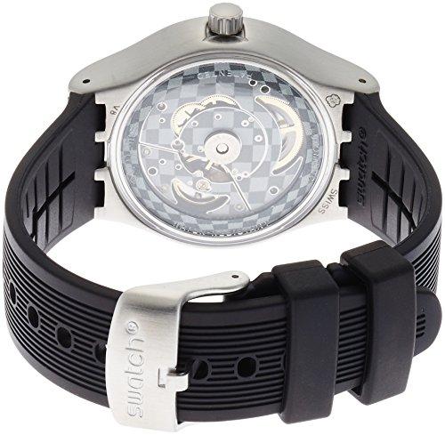 Swatch Montre Homme Analogique Automatique avec Bracelet en Plastique – YIS403