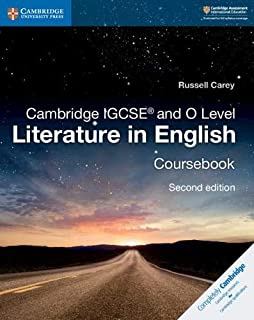 Cambridge IGCSE® and O Level Literature in English Coursebook