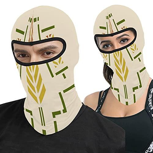 Lesif Harvest Schablone Vollgesichtshaube Ma-Sk Kopfbedeckung Atmungsaktiv Sturmhaube für Outdoor Sport Jagd Radfahren Motorrad Herren Damen