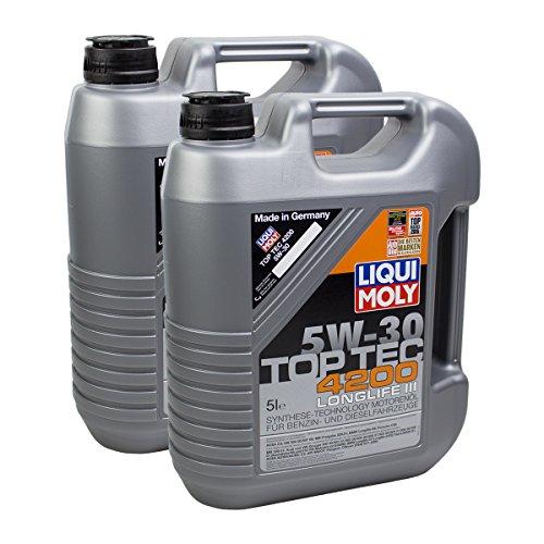 2x LIQUI MOLY 3707 Top Tec 4200 5W-30 Motoröl