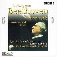 Beethoven - Symphonies Nos 4 and 5 (Symphonie-Orchester des Bayerischen Rundfunks/Kubelik) by Bayerischen Rundf. SO (2003-02-24)